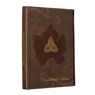 Wicca Rustica: Celtic Autumn iPad Folio Cases