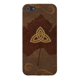 Wicca Rustica: Celtic Autumn iPhone 5 Cases