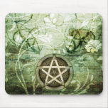 Wicca Rustica: Woodland Pentacle Mouse Pad