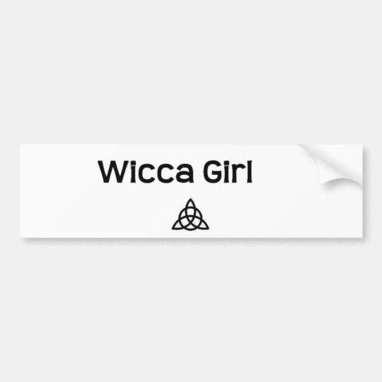 WiccaGirl Bumper Sticker