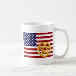 Wiccan America Basic White Mug