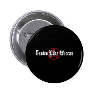 Wiccan Black 6 Cm Round Badge