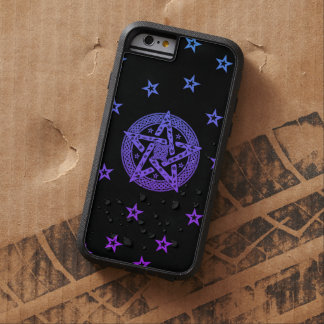 Wiccan Celtic Knot Pentagram with Floral Pattern Tough Xtreme iPhone 6 Case