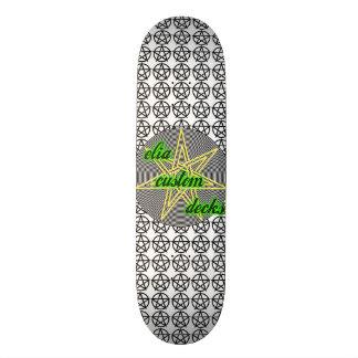 wiccan deck custom skate board