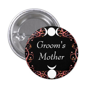 Wiccan God & Goddess Groom's Mother Pin