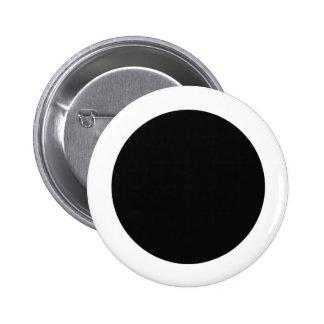 Wiccan New Moon Symbol 6 Cm Round Badge