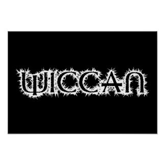 Wiccan Poster