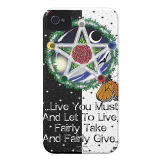 Wiccan Rede iPhone4/4S Cases