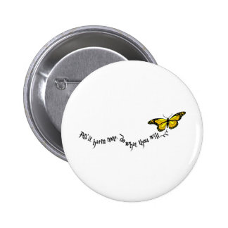 Wiccan rede pinback button