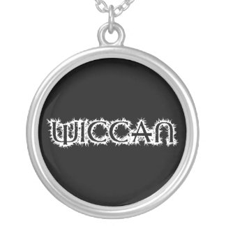 Wiccan Silver Plated Necklace