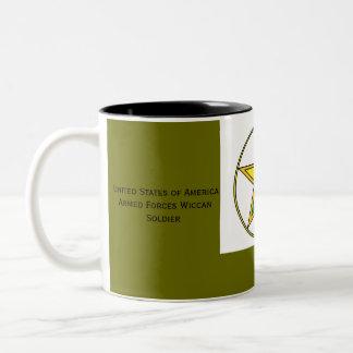 Wiccan Soldier Mug