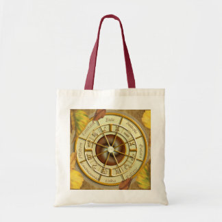 Wiccan Wheel of the Year Tote Bag