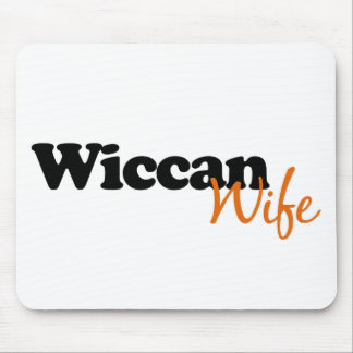 Wiccan Wife Mouse Mat