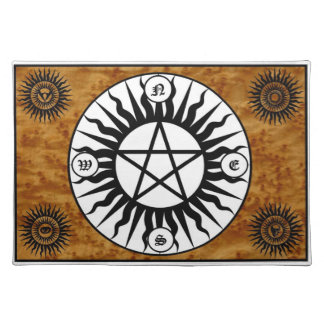 Wiccan Witchcraft Pagan Sacred Space Altar Mat