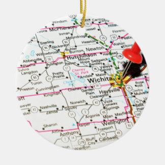 Wichita, Kansas Christmas Ornament