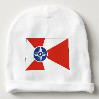 Wichita Kansas ICT Flag Baby Beanie