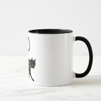 Wicked Black Cat Mug
