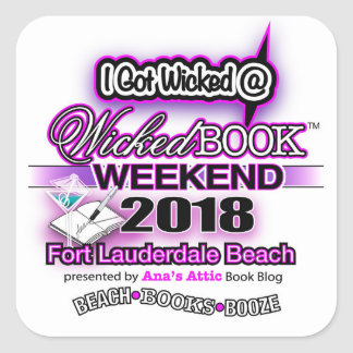 Wicked Book Weekend Stickers