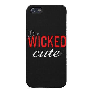 Wicked Cute with Black Witch Hat Case For The iPhone 5