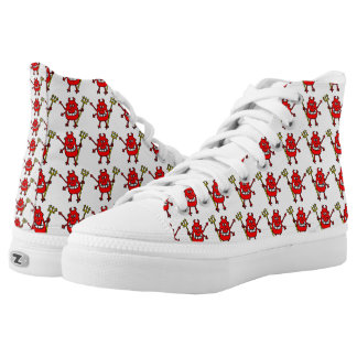 Wicked Devil Design Printed Shoes