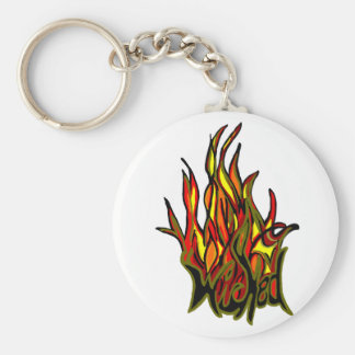 wicked flame key chain