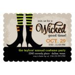Wicked Good Halloween Costume Party 13 Cm X 18 Cm Invitation Card