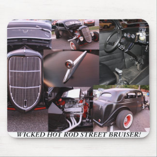 WICKED HOT ROD STREET BRUISER Mouse Pad