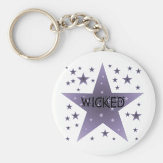 Wicked Key Ring
