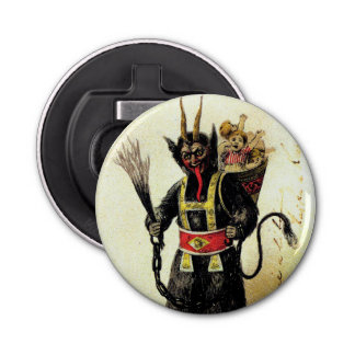 Wicked Krampus Scary Demon Holiday Christmas Xmas Bottle Opener