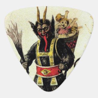 Wicked Krampus Scary Demon Holiday Christmas Xmas Guitar Pick