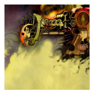 wicked machine canvas framed posters