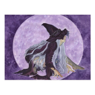 wicked moon witch postcard