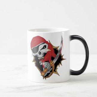 Wicked Pirate Skull Mugs