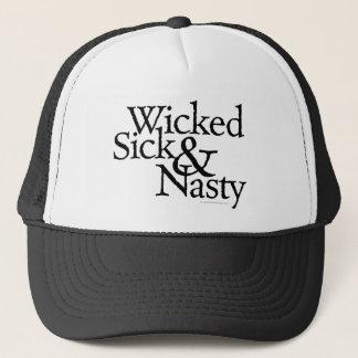 Wicked Sick & Nasty Trucker Hat