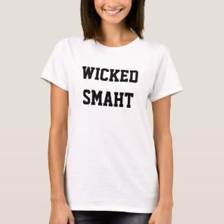 Wicked Smaht Funny Boston Accent Shirt
