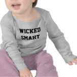 Wicked Smart Baby Smaht Funny Boston Accent T Shirts