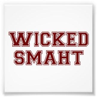 Wicked Smart Smaht College Boston Photo Print
