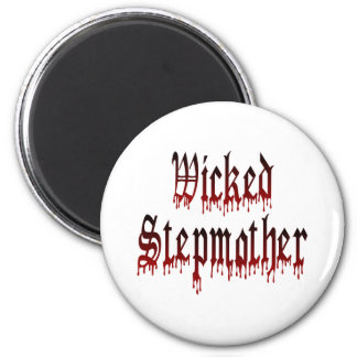 Wicked Stepmother 6 Cm Round Magnet