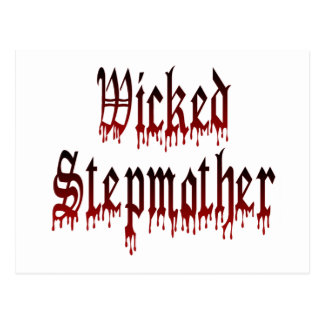 Wicked Stepmother Postcard