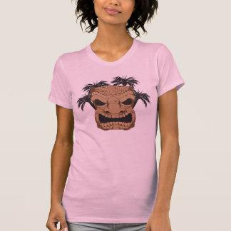 Wicked Tiki Carving Ladie's Petite T-Shirt