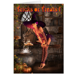 Wicked ways greeting card