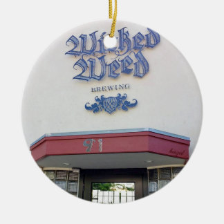 Wicked Weed, Asheville North Carolina Ornament