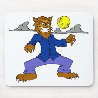 Wicked Werewolf Mouse Pad