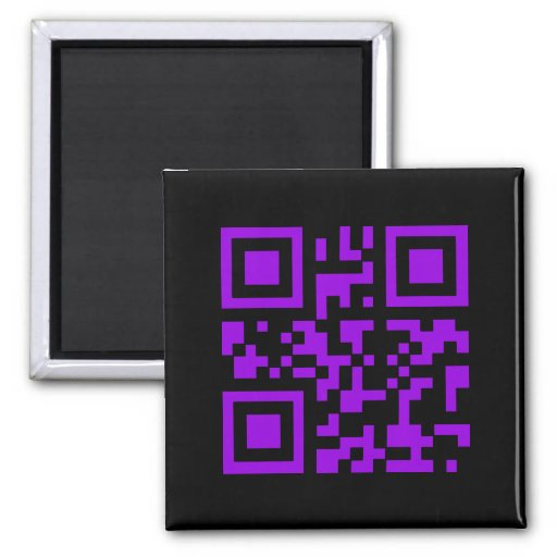 Wicked Witch Bar Code Fridge Magnet