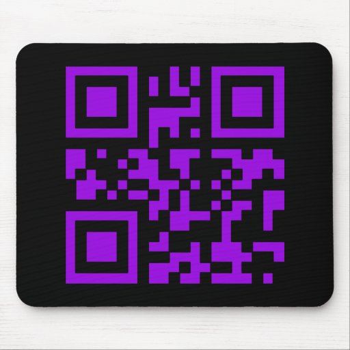 Wicked Witch Bar Code Mousepad