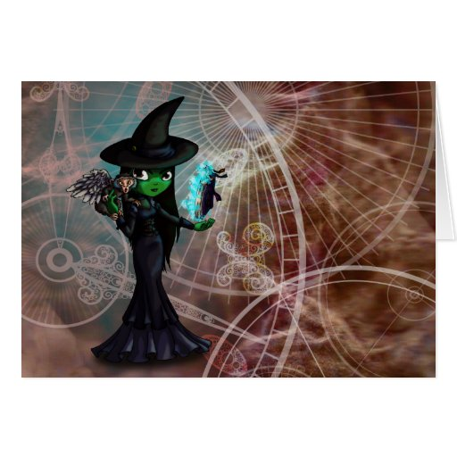 Wicked Witch Cards