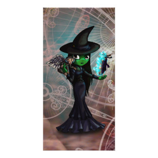 Wicked Witch Photo Card Template