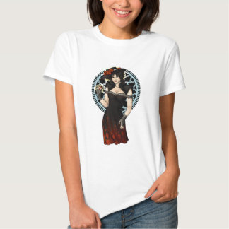 Wicked Witch Pinup Tee Shirt