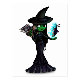 Wicked Witch Post Card
