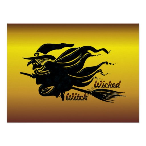 Wicked Witch Poster